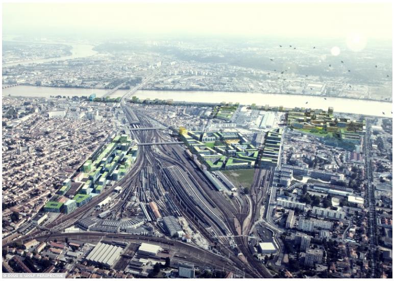 Oin bordeaux euratlantique projet urbain saint jean for Agence urbanisme paysage bordeaux